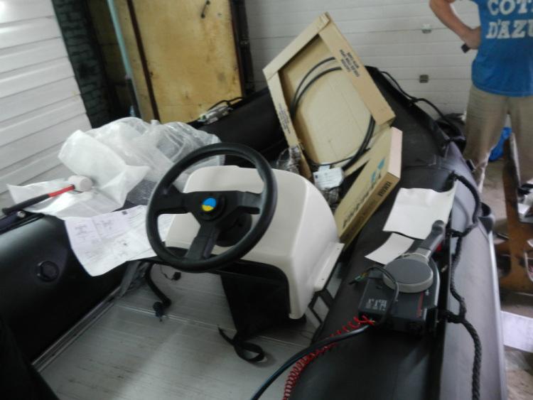 купить рулевое управление на моторную лодку в интернет магазине