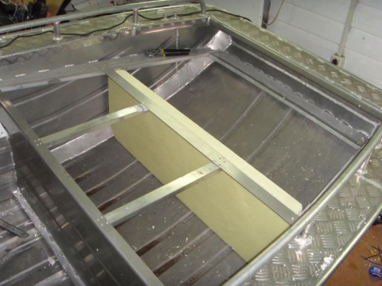 Алюминиевая лодка плоскодонка своими руками 30