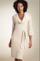 Модное платье-туника связано спицами 4.Схема вязания платья.