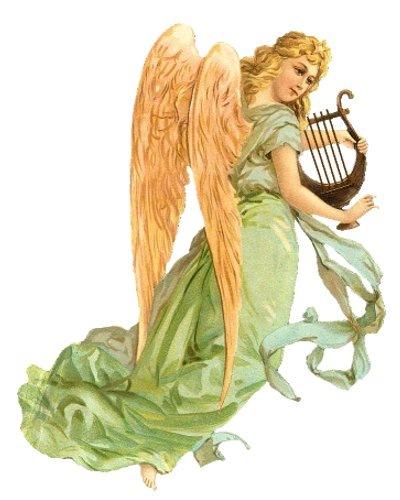 Картинки для декупажа с ангелами