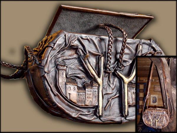 Поделки сумки из кожи