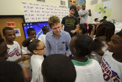 Boys and Girls Club Atlanta ribbon cutting ceremony [13 сентября]
