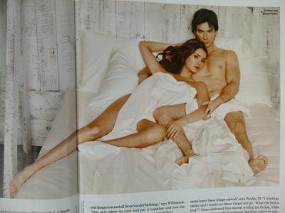 Фотосессия для EW Magazine + сканы