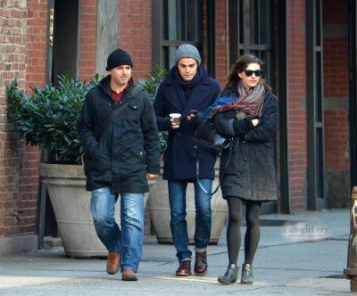 Пол и Фиби в Нью-Йорке [30 ноября]