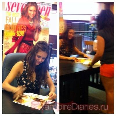 Seventeen Magazine Cover - Autograph signing [15 сентября]