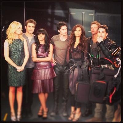 Фото и видео со съемок фотосессии для пятого сезона