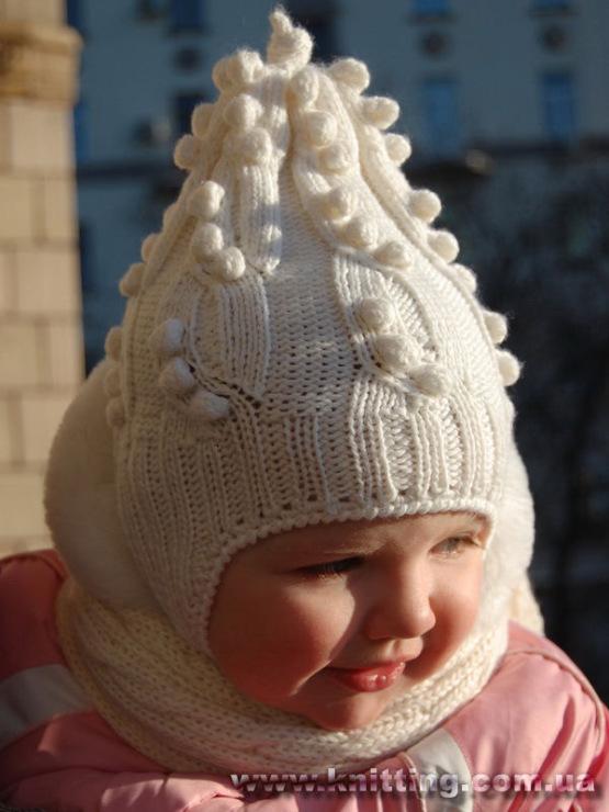 1 май 2014 Вязаные шапочки для девочек ( 4 модели с описанием) Метки