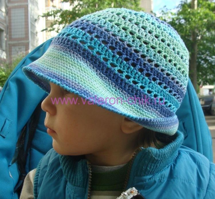 Шапки, шляпки, кепки, панамки - всё только крючком. . Очень красиво. а для мальчиков у вас что то есть или вы вяжете