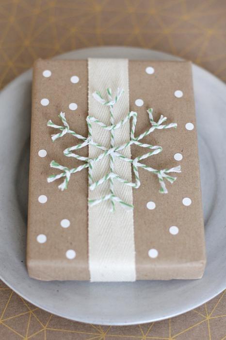 Подарки из белой бумаги своими руками