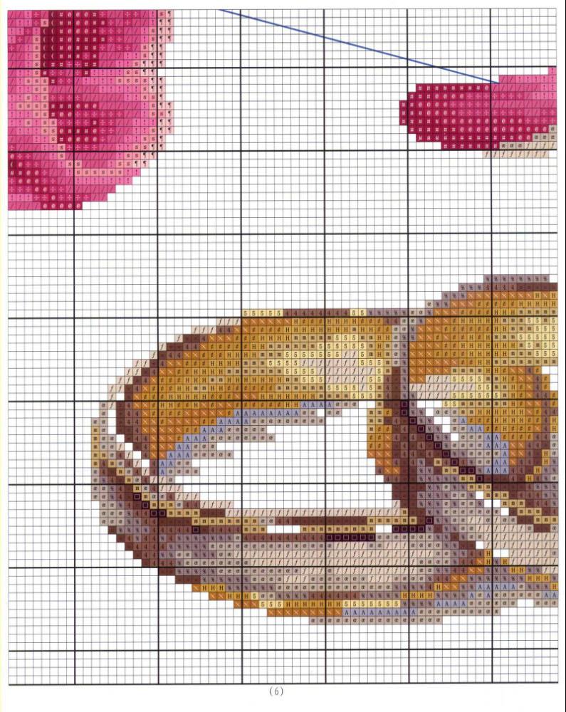 Вышивка крестом схемы свадебных колец