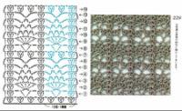 модели и схемы вязания крючком из японских и китайских журналов.