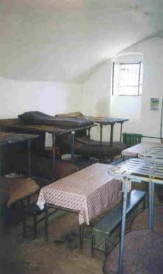 Общежитие (камера) в Шушинской тюрьме.