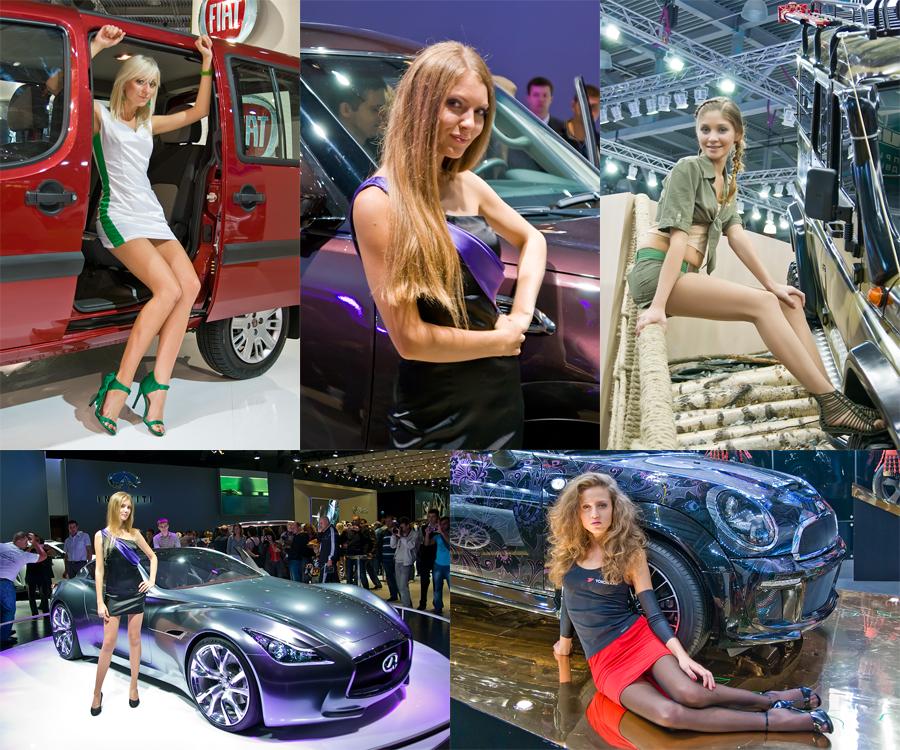 Московский Международный Автомобильный Салон 2010. Девушки.