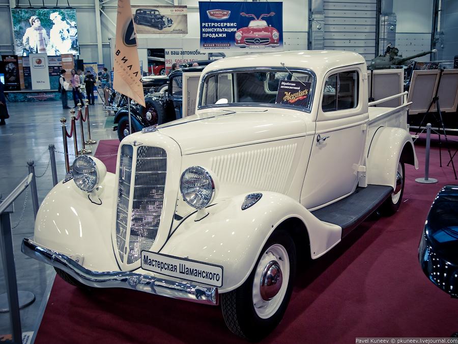 ГАЗ-М-415 — пикап, грузовой вариант ГАЗ-М1. Выпускали с 1939 по 1941 год.