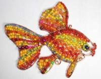 рыбки из бисера / полюбоваться. свой цитатник или сообщество!