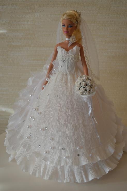 Кукла с конфетами своими руками фото