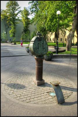 Питер. Сквер имени композитора Андрея Петрова.