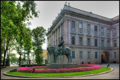Питер. Мраморный дворец. Сентябрь 2010.