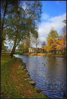 Питер.Октябрь 2010.Лопухинский сад.