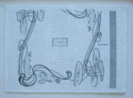 Контурные узоры художественной вышивки