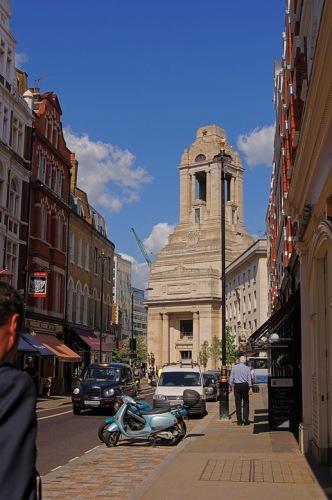 Freemason's Hall - вид со стороны Ковент-Гарден.