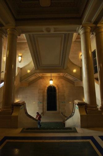 Freemason's Hall. Лестница.