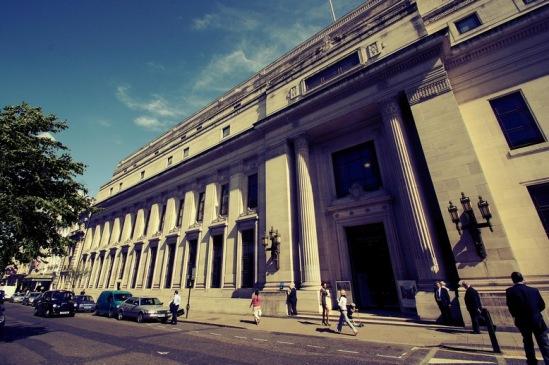 Freemason's Hall - штаб-квартира Великой Ложи Англии.