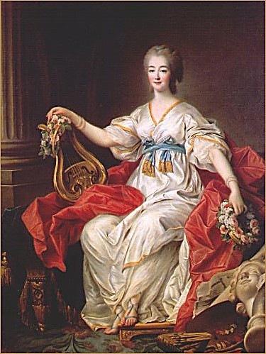 Франция, окрестности Парижа. Марли-ле-Руа. Графиня Дюбарри.