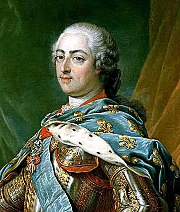 Франция, окрестности Парижа. Марли-ле-Руа. Людовик XV.