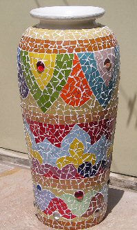 recycling ideas: mosaic decor