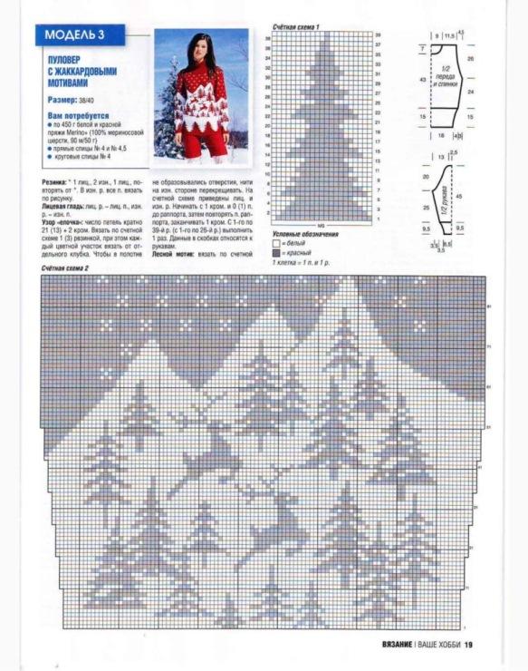 Красные олени прекрасно себя чувствуют в красно-белом еловом лесу! . Этот пуловер с высоким воротником настоящее