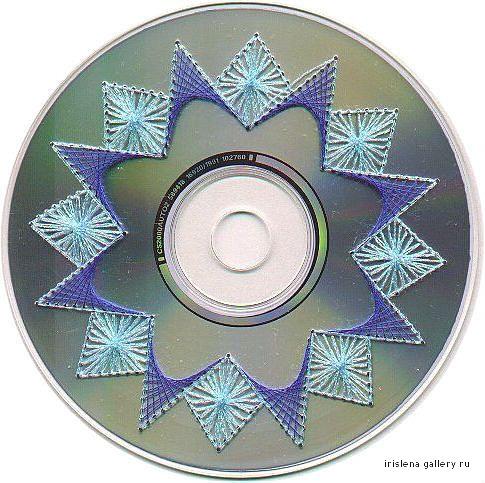 Как сделать на диске рисунок