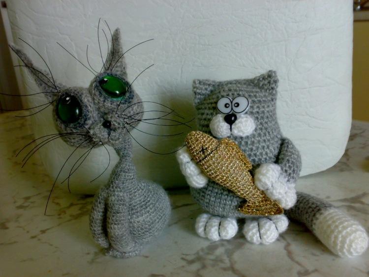 Вязание крючком для кошек