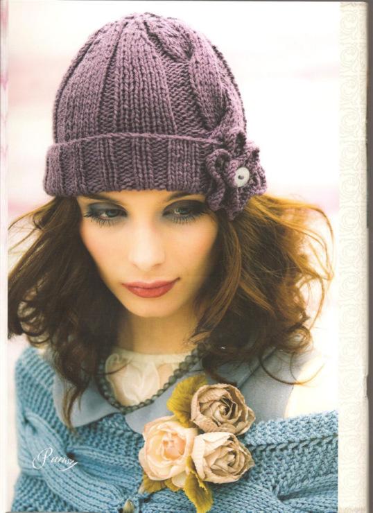 Одежда для всех: Вязаные зимние шапки.