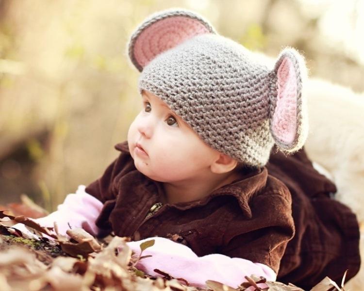 Шапочка с ушками дляНа этот раз рубрику вязание малышам 0-3 месяцев представит летний Такая вязаная шапочка с ушками