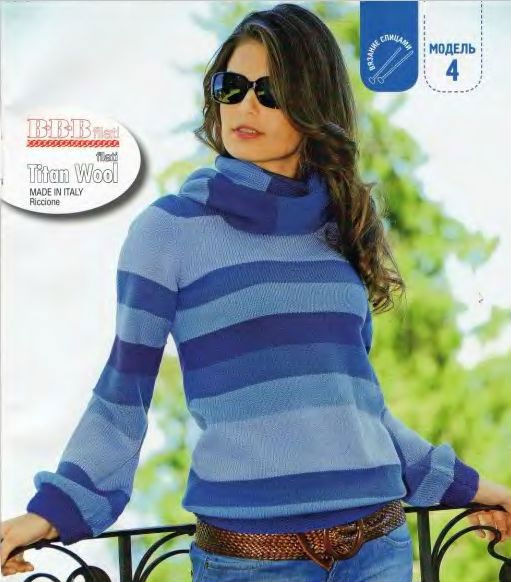 Описание: шарф хомут спицами резинка.