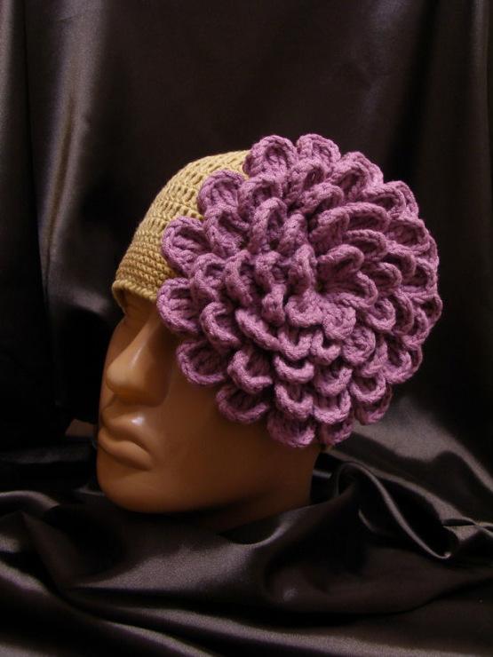 зимняя шапка женская крючком схема на русском.