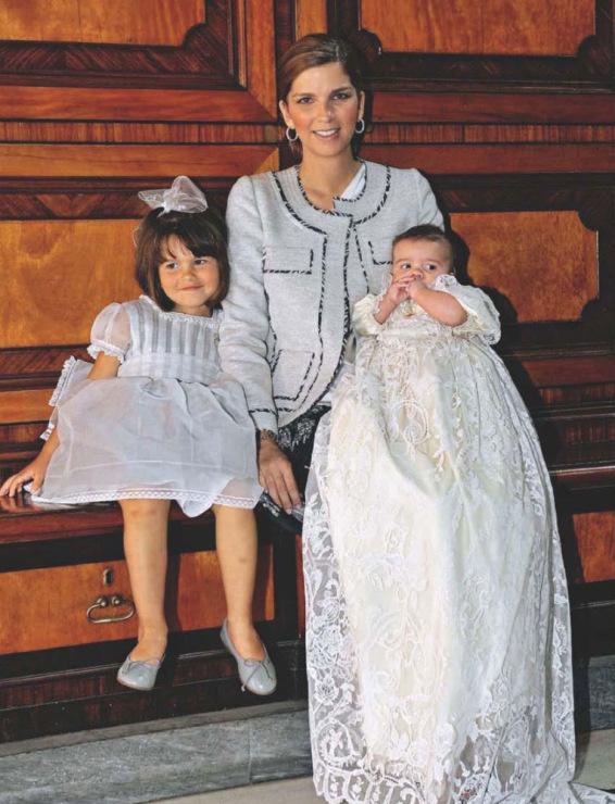 Крещение Герцогов Бургундского и Беррийского в Ватикане