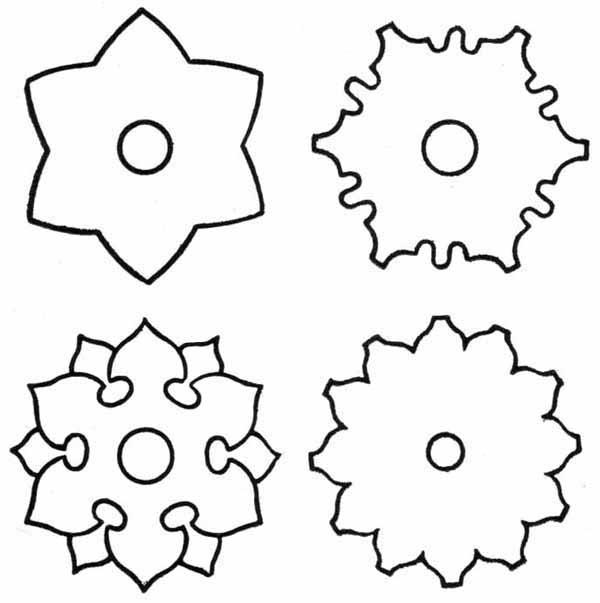Ня картинки - татарские узоры и орнаменты в векторе - Няшки