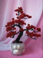 Gallery.ru / Фото #6 - Цветы, деревья, свадебные букеты из бисера 2 - Bisheri.