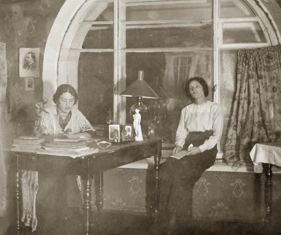 курсистки.Петроград 1918 год