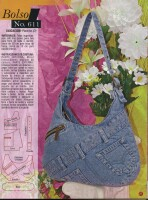 Bolsos Журнал по пошиву сумок с выкройками Страниц: 58 Размер: 17.4 мб...