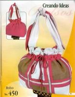 Журнал по изготовлению сумок с выкройками и инструкциями.