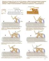 Вязание крючком столбики с одной вершиной как 538