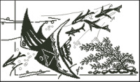 вишивка герб украни