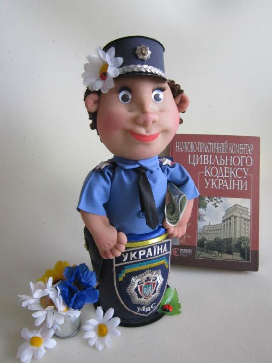 Кукла полицейский своими руками мастер класс 391