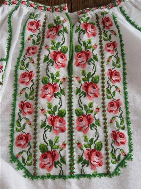 Украинские сорочки-вышиванки.
