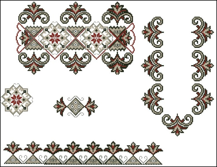 Традиционная вышивка крестом