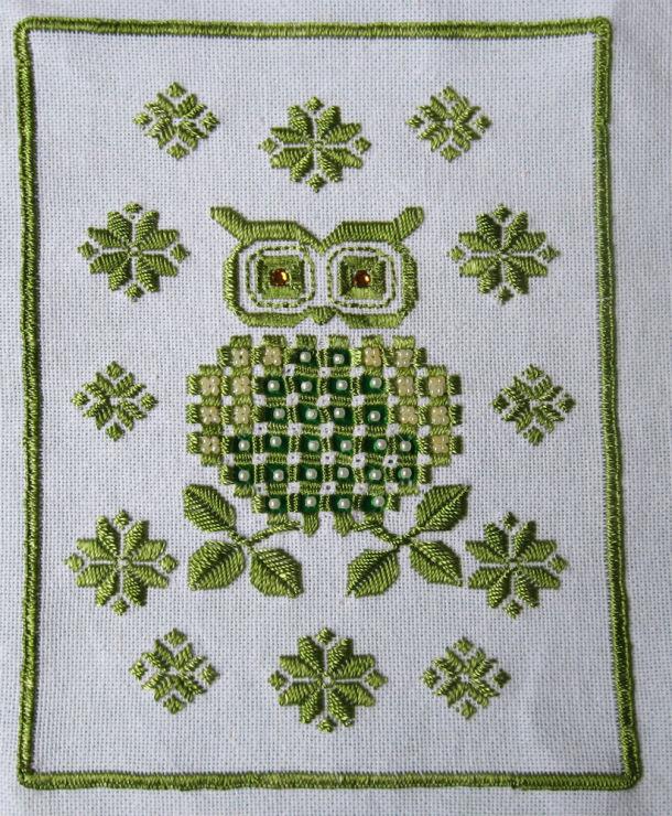 Вроде простенькая схема да и... ganzya, У меня вопрс по вышивке росписью: вы какие нитки использовали?