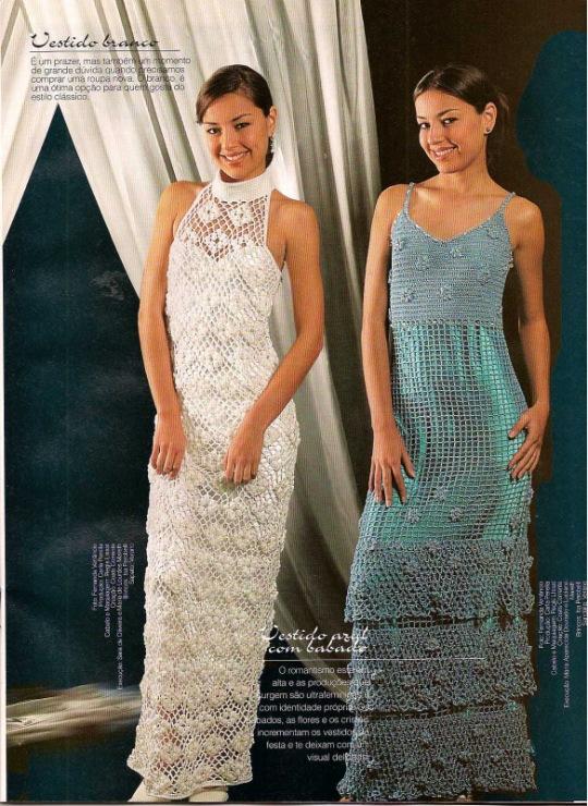 Wedding Saloon :: Свадебное платье крючком со схемами - Свадебные
